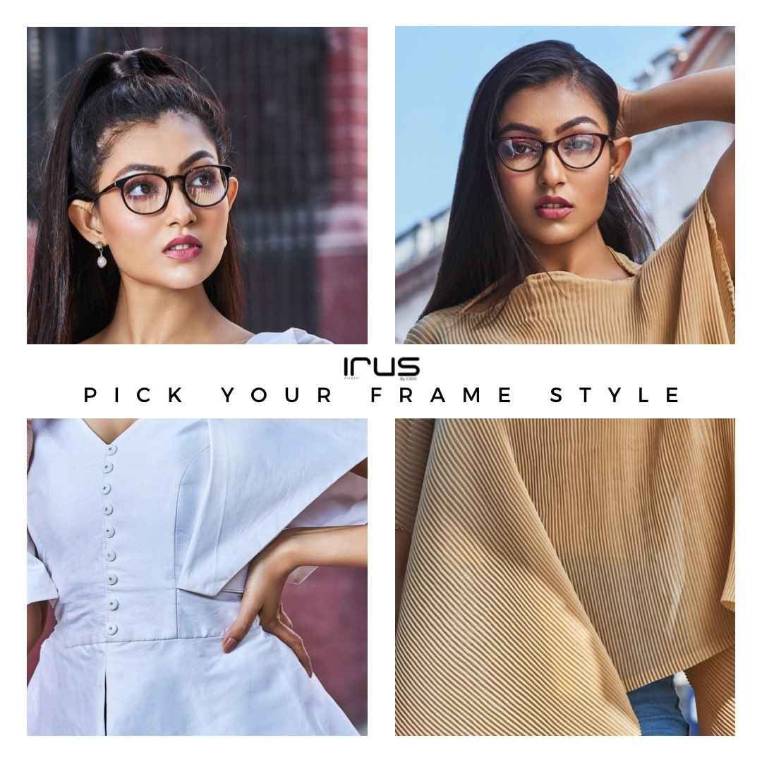 Rounded or cat eye- tell us your pick in the comments 👇  #IrusEyewear #eyewear #frames #specs #framewear #sunglasses #shades #styleinspo #fashionblogger #sunglasseslover #eyewearfashion #workfromhome #fashion #style #spectacles #eyeweartrends #framewear https://t.co/zZ2Uv5xoCM