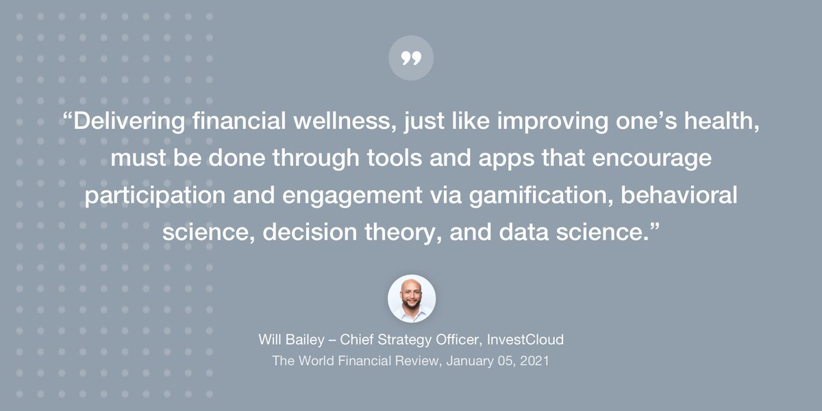 As we start 2021, what can be done to improve employee #financialwellness? Our Chief Strategy Officer @wmbailey12  describes how this can be achieved through #gamification @TWFReview