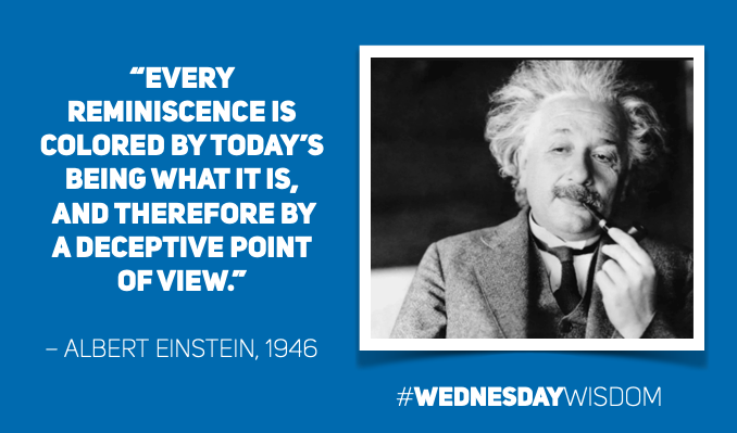 @AlbertEinstein's photo on #WednesdayWisdom