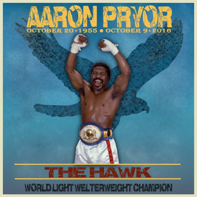 The best Jr. Welterweight in Boxing History @aaronpryor the Hawk 2009 Inductee into @BoxingHall what a fighter #Legendary #boxingdaytest @boxingnews24 @BNGBOXING @WorldBoxingNews @IndyStarSports @BoxingNewsED.