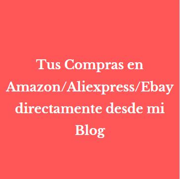 """¿Sabías que puedes comprar en Amazon/Aliexpress/Ebay directamente desde mi Blog, donde y cuando quieras?  BUSCA EN GOOGLE: """"porquecomprarlo"""" ¡¡y accede!!   Gracias por 🔁 y por vuestras compras ;)  #FelizMiercoles #20Enero #wednesdaythought #bloguers @AyudasjugadorRt #twitter"""