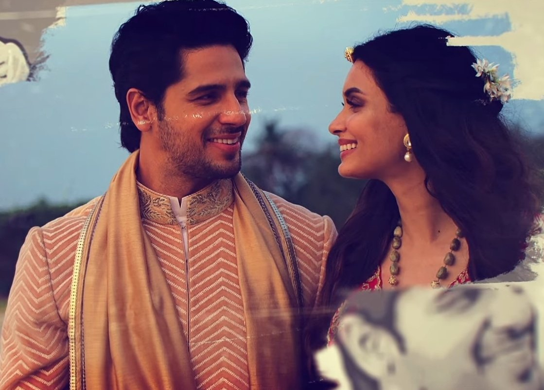 These pictures are so beautiful 🥺🤍 @SidMalhotra @DianaPenty #ChallonKeNishaan