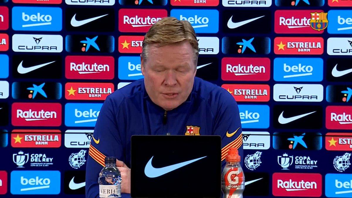 🔊 @RonaldKoeman habla sobre la sanción a Leo #Messi