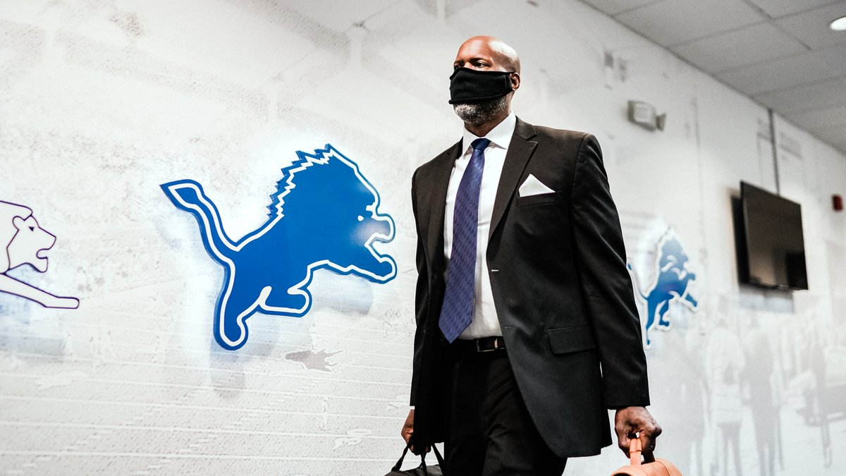Take a look at highlights from Brad Holmes' first day on the job in Allen Park.   #OnePride