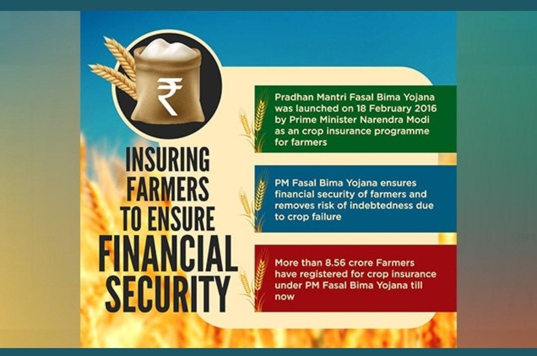 The Prime Minister, Shri Narendra Modi has congratulated all the beneficiaries ofPM Fasal Bima Yojana on completion of 5 years. #FasalBima4SafalKisan