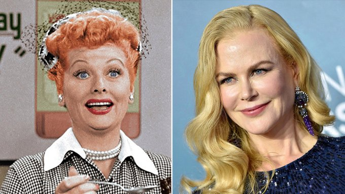 Lucille Ball's Daughter Defends Nicole Kidman Casting For Aaron Sorkin's 'Being The Ricardos' Photo