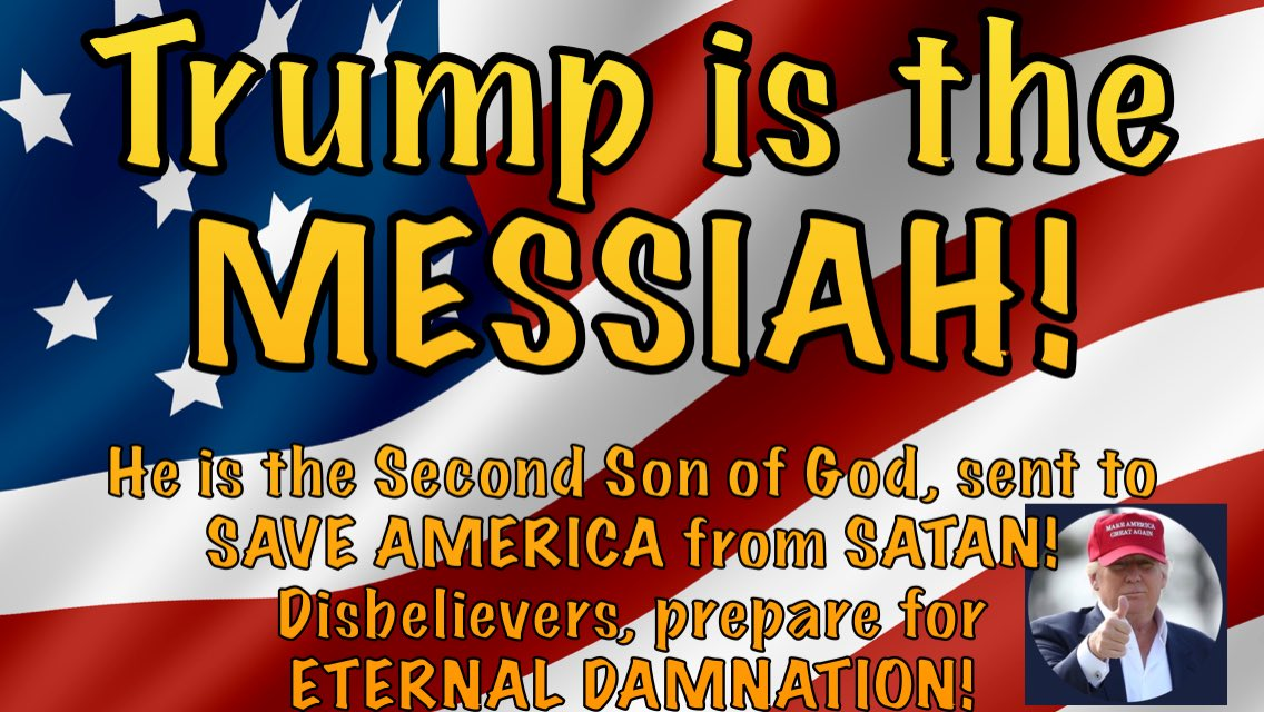 Donald when is the WINNING going to start, like you said it would??  Now #NewDayInAmerica & #TrumpsLastDay are trending — is it really over?! Were you exaggerating when you said you weren't a LOSER?? Confused.  #TrumpIsTheMessiah!  ✝️🇺🇸🚨🦁🧡 #maga #cult45 #TrumpsNewArmy
