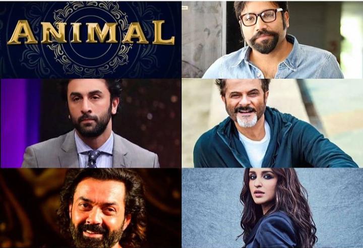 The director of #ArjunReddy & #Kabirsingh announces his next titeld #Animal starting #RanbirKapoor ,#anilkapoor , #Bobbbydeol and #parineetichopra