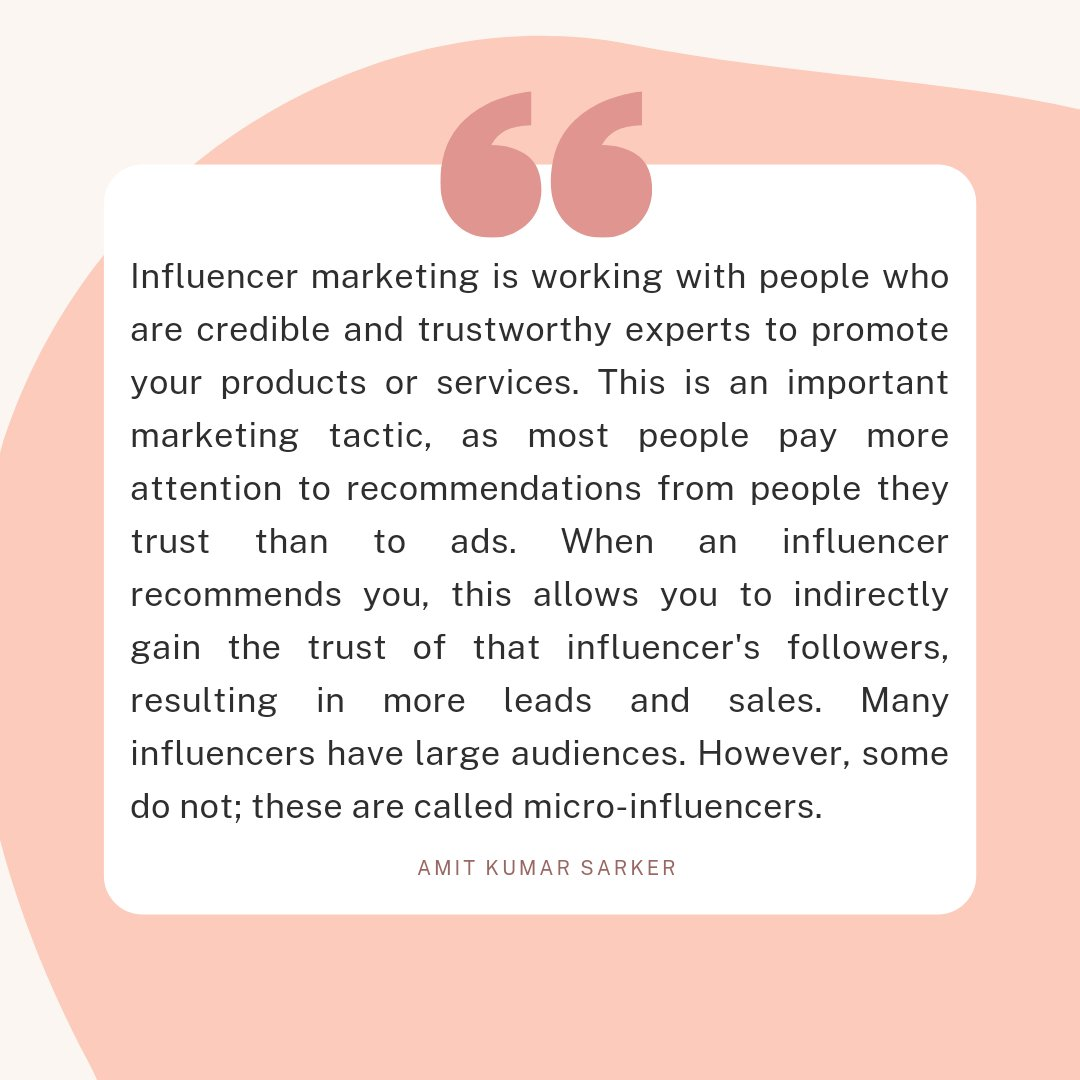 Influencer marketing  #Influencermarketing #influencermarketingfamous #influencermarketing101 #influencermarketingl #instadaily #instagram #influencer #instagrammarketing  #instagrammarketinggenius #instagrammarketinghttp  #instagrammarketingstrategy  #influencer #influencers