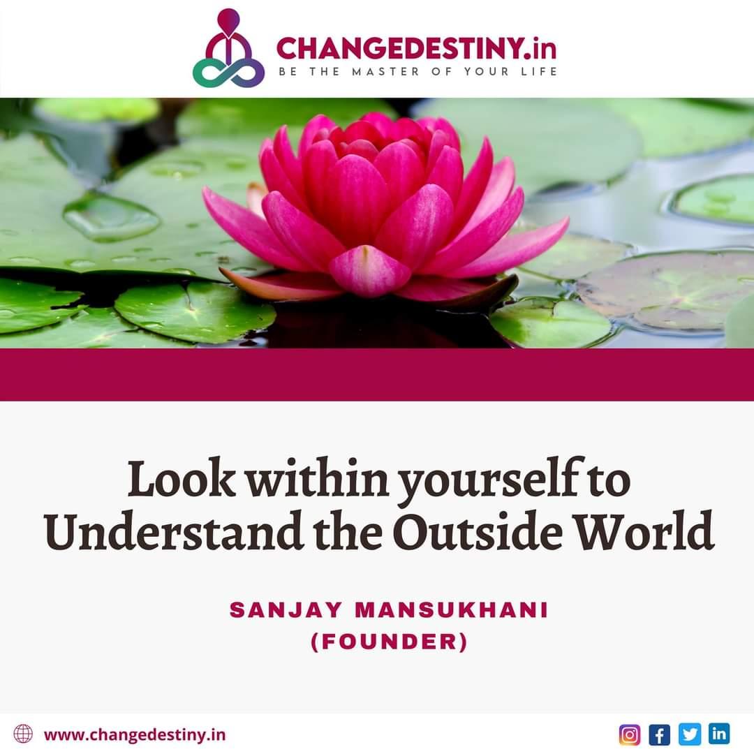 You wanted to understand the Outside World?🤔 #bharatmata #wednesdaythought #wednesdayVibes