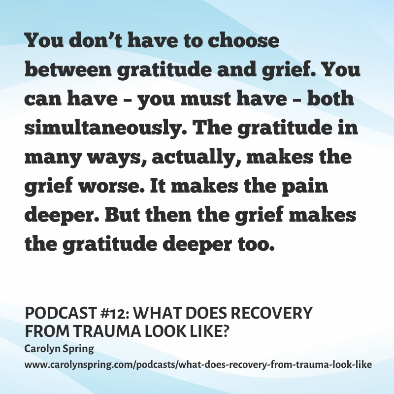 Listen to my podcast: What does recovery from trauma look like? #trauma #dissociation #DID #therapy #PTSD #recovery #hope #mentalhealth #shame