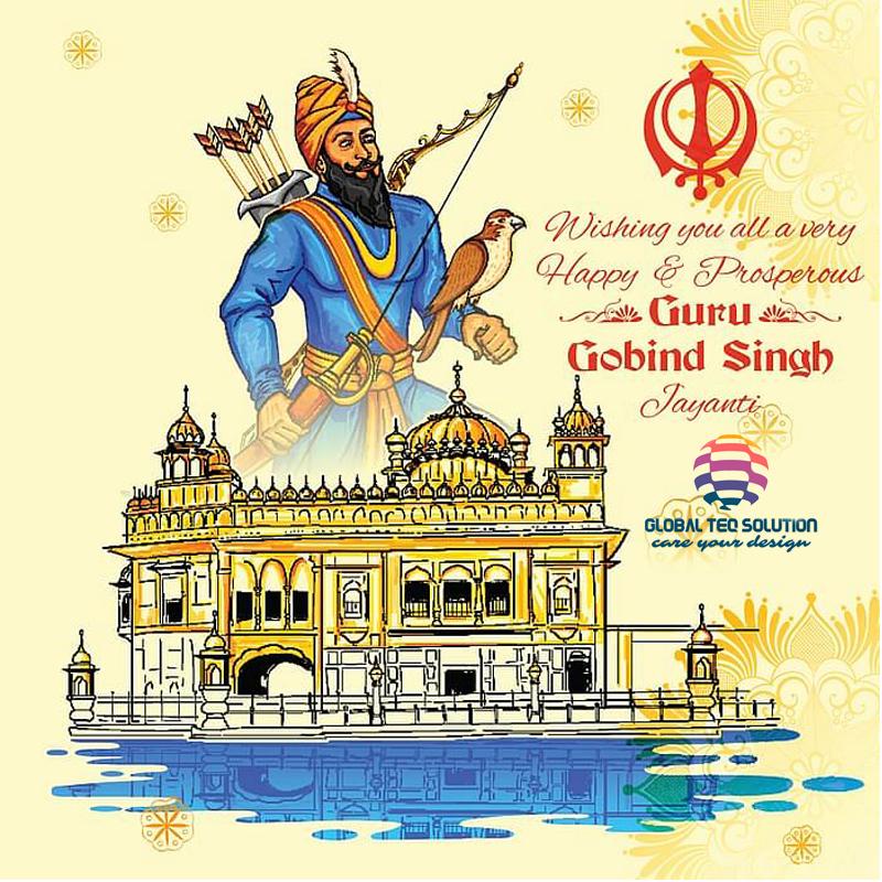 Globalteqsolution wishes you and your family a very Happy Guru Gobind Singh Jayanti. #gurugobindsinghjayanti #gurugobindsingh #india #guru #singh #gobind #jayanti #waheguru #punjab #sikhism #gurudwara #guruparab visit: https://t.co/smkTevQGuY call: +91-799962-8888 https://t.co/D4J7IQvQ7A