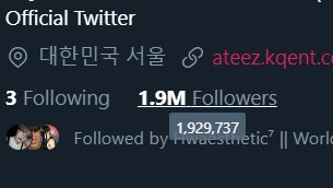 they r close to 2M followers 🥺 + their pinned is gone  me: pAniCs