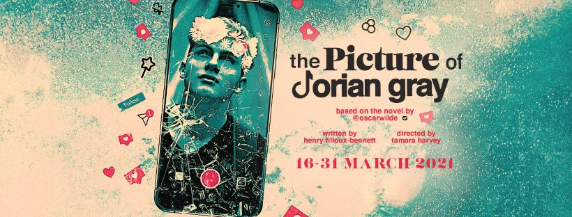 #NEWS: Fionn Whitehead to star in new digital production of 'The Picture Of Dorian Gray'. @theBarnTheatre @theLBT @NewWolsey @OxfordPlayhouse @ClwydTweets @ThePictureOfDG #DorianGray #online #theatre #digital #OscarWilde - here -