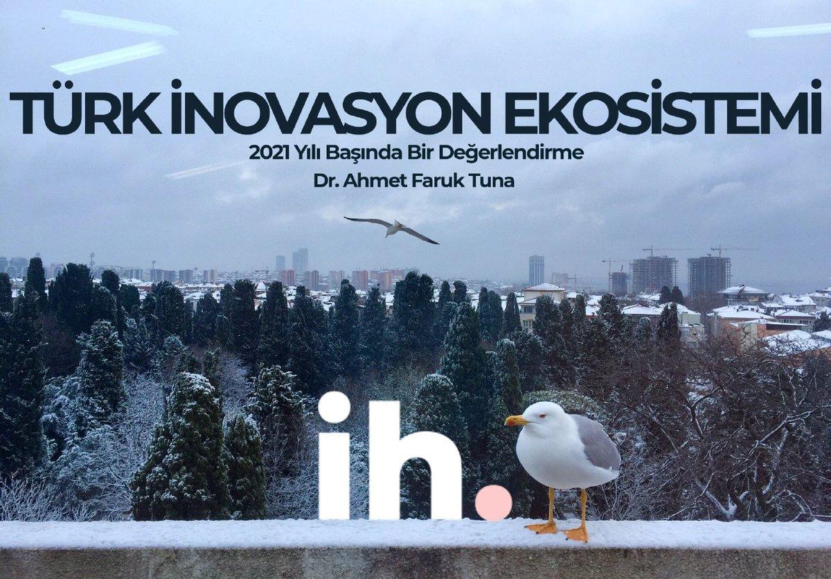 Türk İnovasyon Ekosistemi'ni etraflıca değerlendirdim.  Uzun ve keyifli bir yazı oldu :)