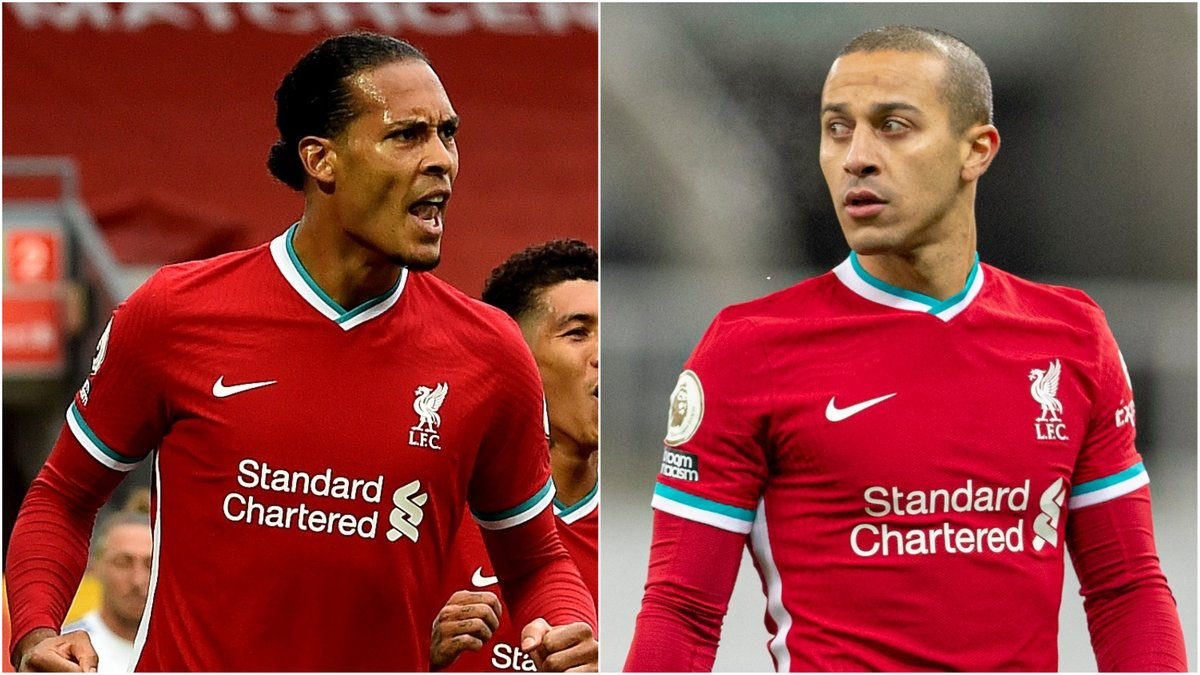 Yes, lads! 🤩  @VirgilvDijk and @Thiago6 have been named in UEFA's Fans' Men's #TeamOfTheYear 💫