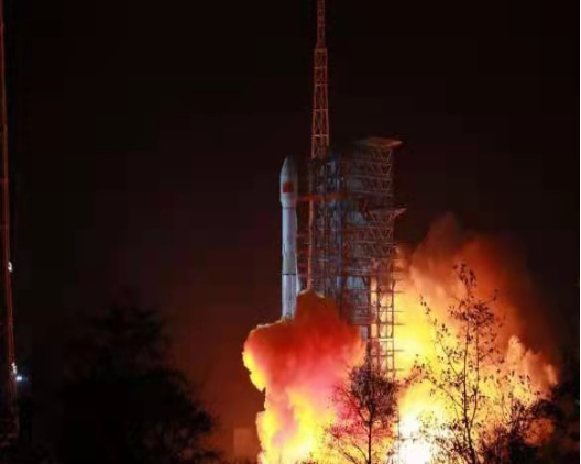 The Tiantong 1-03 satellite, which will build a mobile network to provide reliable mobile communication services for users in #China, #Africa and other related regions, was launched successfully today. China's space industry has a good start in 2021.