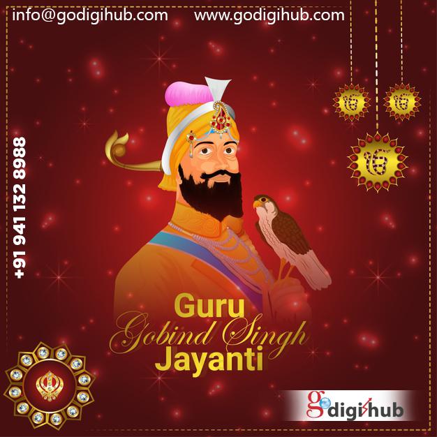 Gurpurab Di Lakh Lakh Wadhai! May this holy occasion enlighten your heart and mind with knowledge and sanctity. Happy Guru Gobind Singh Jayanti to you and your family!  📲 +91 941 132 8988 📩 info@godigihub.com 🌐 https://t.co/i3d5cdP6pQ  #godigihub #waheguru #gurugobindsinghji https://t.co/fg9ZMmsTSR