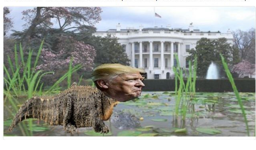 #Trump #TrumpsLastDay #ByeDonTrump in his SWAMP he brought to town  Cue SAD MUSIC 😿 🎵🎶🎻 Memories Light the corners of my mind Misty watercolor memories Of the way I WAS