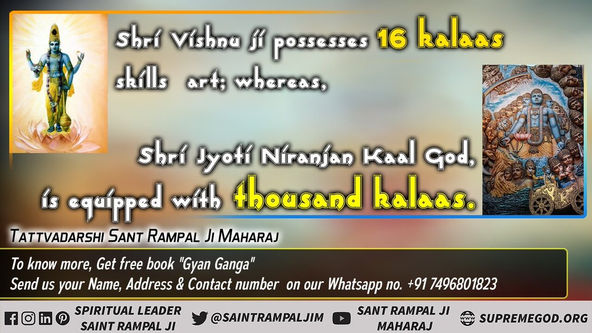 #HiddenTruthOfGita In the Gita chapter 17 verses 23-28, the Om Mantra which is of Kaal and the Tata Mantra which is symbolic, this letter is for the spiritual practice of the man and the Sat Mantra is also symbolic.  @SatlokChannel
