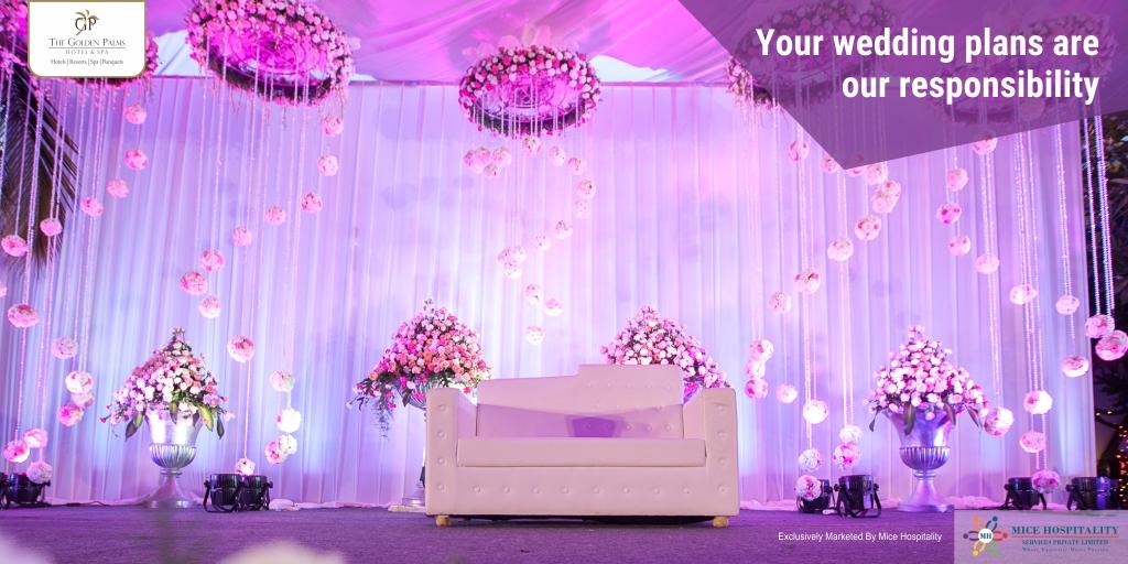 Exclusively Marketed by Mice Hospitality Services Pvt. Ltd For more information, visit:   #GoldenPalmsHotelAndSpa #WeddingSeason #Wedding #SpecialPackage #Packages #FestiveSeason #Festive #StaySafe #Luxuryresort #LuxuriousStay #Restaurant