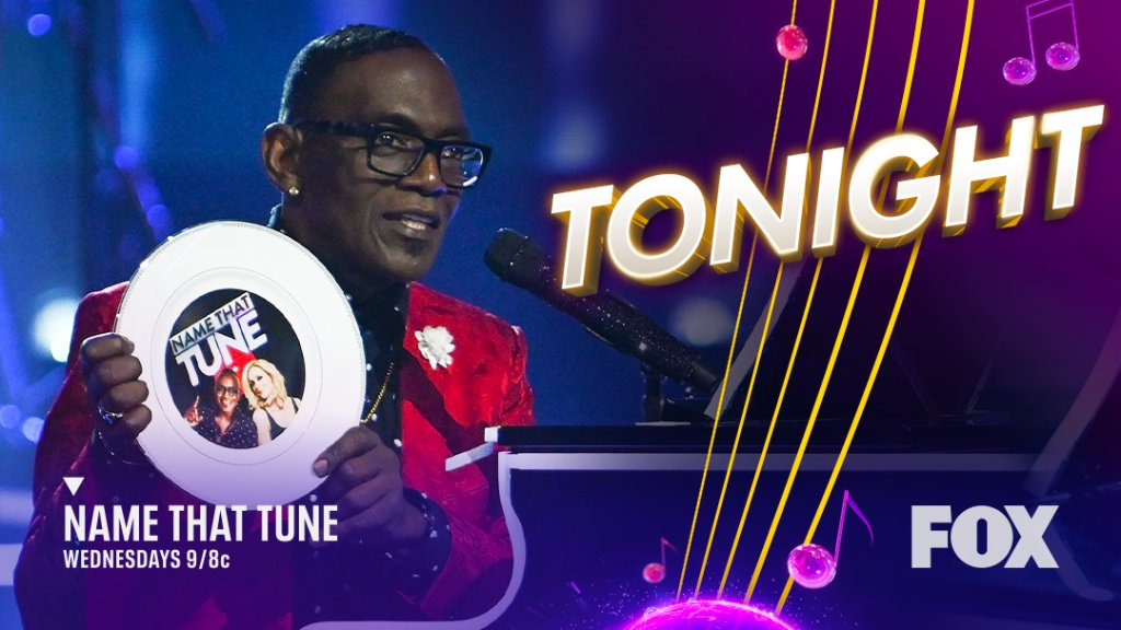 Do you have an extra one for me, @YO_RANDYJACKSON? 😍  Get ready for the hype when an all-new #NameThatTune starts TONIGHT at 9/8c!