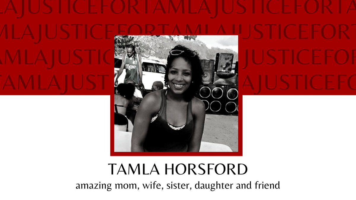 This is not the time to be silent. Let us be heard all over the world!   We wont let the investigation be mishandled again. We demand reinvestigation. Let FBI take over!    #JusticeForTamlaHorsford  #BlackLivesMatter  #SayHerName  #StopRacism