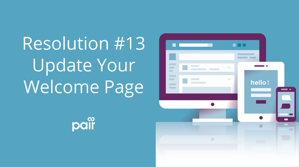 Build a welcome page that offers the information that new site visitors find valuable.     #WednesdayMorning #WednesdayWisdom #webdesign