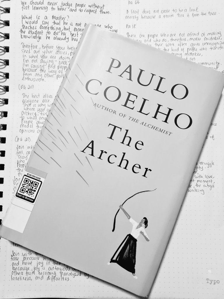 Done reading. A rejuvenation, too many good quotes. Upon completion, felt like you've sipped a good coffee in the morning to start your day.  #paulocoelho #thearcher