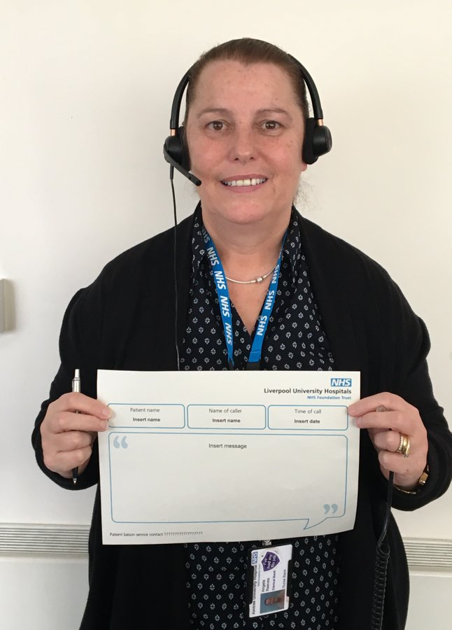 To help keep families and patients in touch during the COVID-19 pandemic, the Family Liaison Service can provide support to our patients and their loved ones whilst in hospital 🏥💙