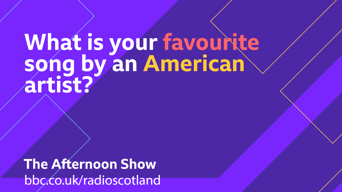Inspired by #InaugurationDay, for our Topical Tune this afternoon we are looking for your favourite song by an American artist  Let us know below 👇  #TheAfternoonShow with @GrantStottOnAir from 13:30 -