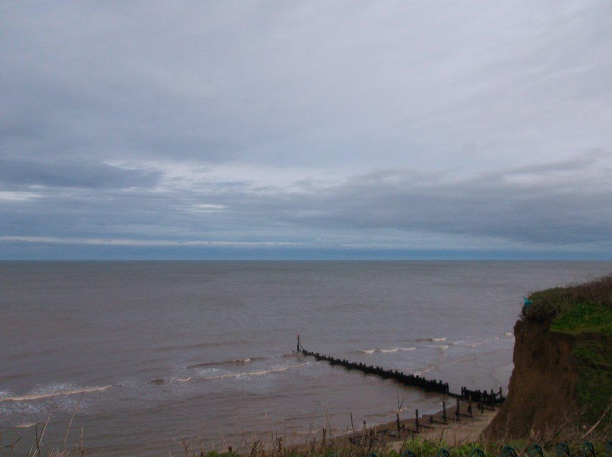 However grey the day, the blue sky on the horizon brings hope.  #wednesdaythought #WednesdayMotivation