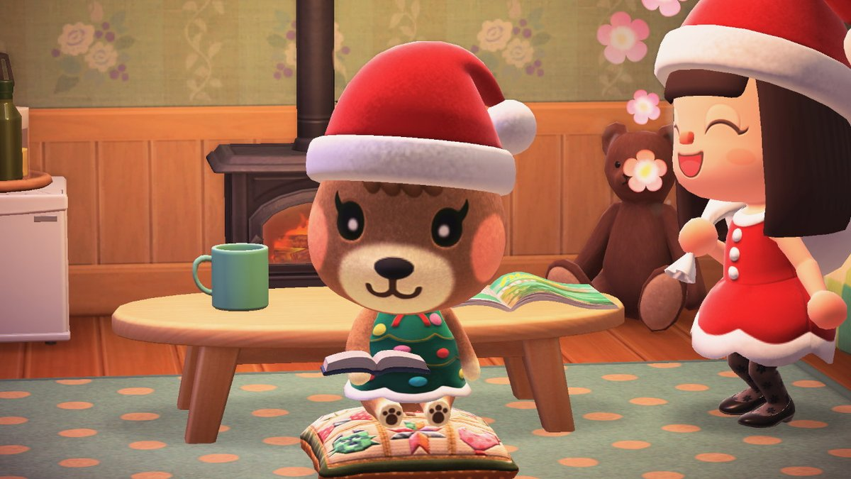 Maple has the cutest little toes #AnimalCrossing #ACNH #NintendoSwitch #maple