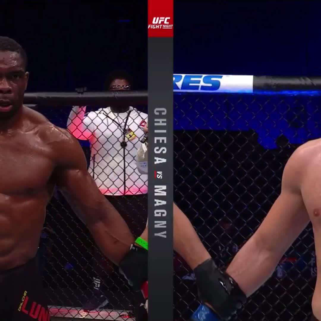 Encore une belle victoire africaine à l'UFC avec cette décision unanime en faveur du Congolais Dalcha Lungiambula #UFCFightIsland8