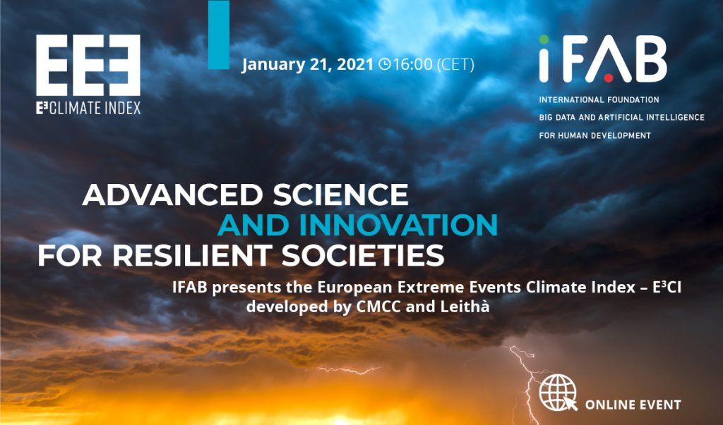 Join our Director-General @FlorenceRabier & Chiara Cagnazzo of the #CopernicusClimate Change Service tomorrow from 16:00 CET for a discussion on the crucial role science plays – especially #BigData and #AI4EO – in facing the challenge of #climatechange. ifabfoundation.org/2021/01/05/adv…