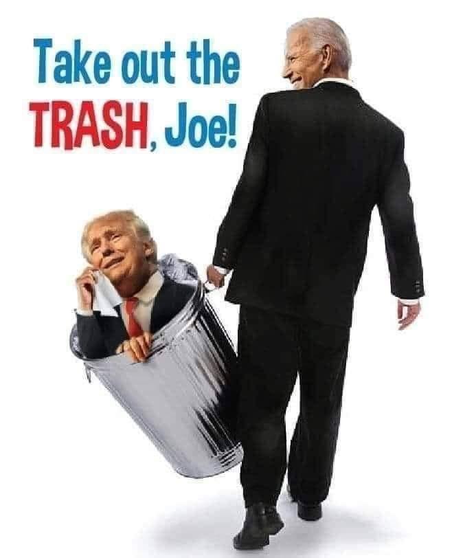 Buh-bye POS! #gethimout #fucktrump