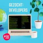 Image for the Tweet beginning: Jobalert: Developers gezocht voor internationaal