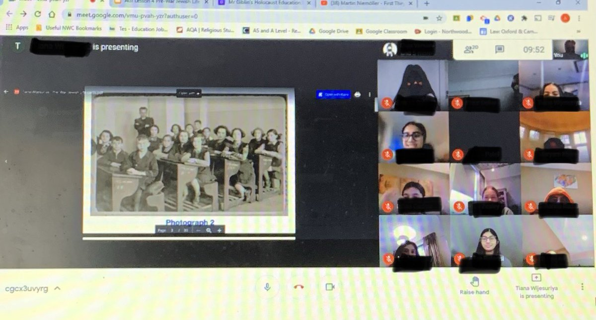 As part of our #HolocaustEducation our Y9 we're exploring Jewish life I. The 1930s - this phot is a nice comparison of school back then, and school now! #NWCFamily @HolocaustUK @HMD_UK #guidedhomelearning @GDST https://t.co/DzUvoI4Mxz