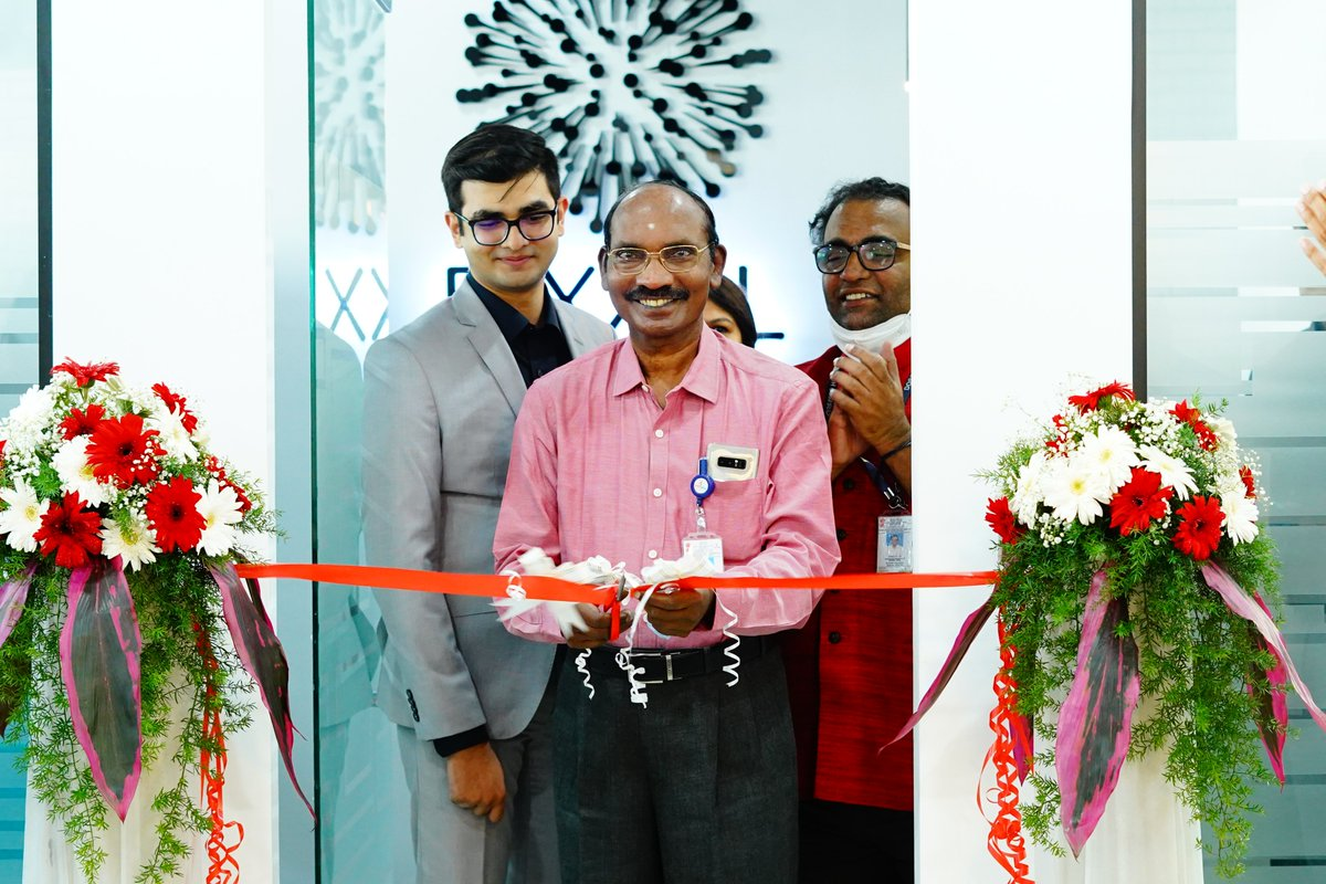 Inauguration of M/s Pixxel's office at Bangalore held today in the presence of Dr. K. Sivan, Chairman, ISRO/Secretary, DOS as Chief Guest. @PixxelSpace