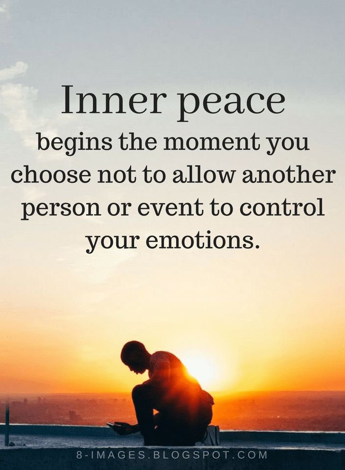 Inner peace begins the moment you choose not to allow another person or event to control your emotions.  #wednesdaythought  #WednesdayMotivation  #quotes  #BePositive