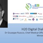 Image for the Tweet beginning: Today we host Dr Giuseppe