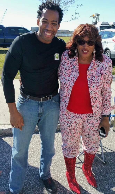 #Flashback me and Auntee 'Reen aka #Congresswoman #CorrineBrown! #Duval #TBT
