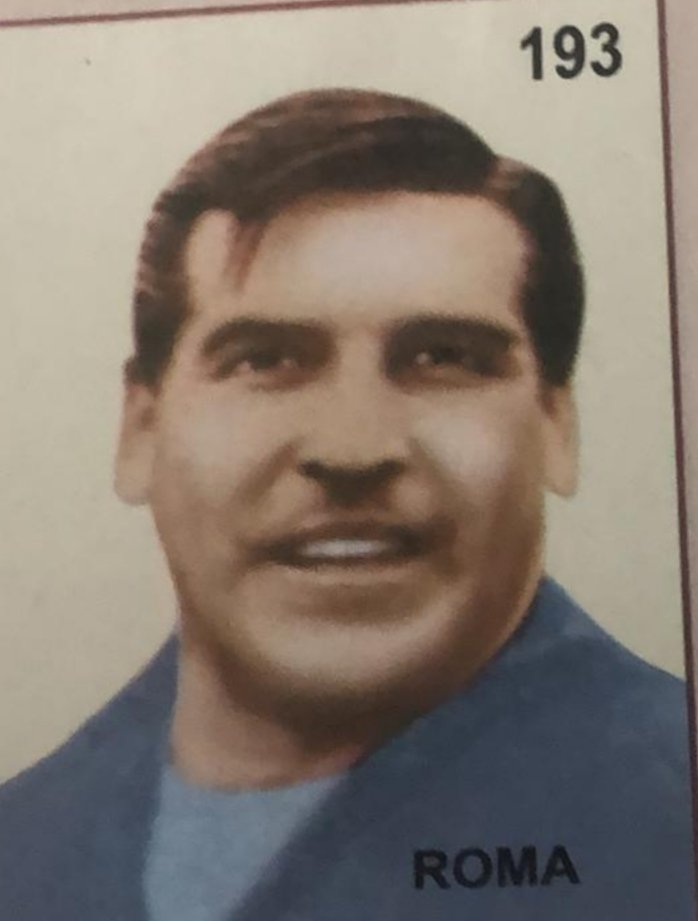 A great spot by nephew @yorkiehodgson who noticed Antonio Roma the Argentinian keeper in the 62  #worldcup. Roma ended up reincarnated as #bigsam Allardyce.