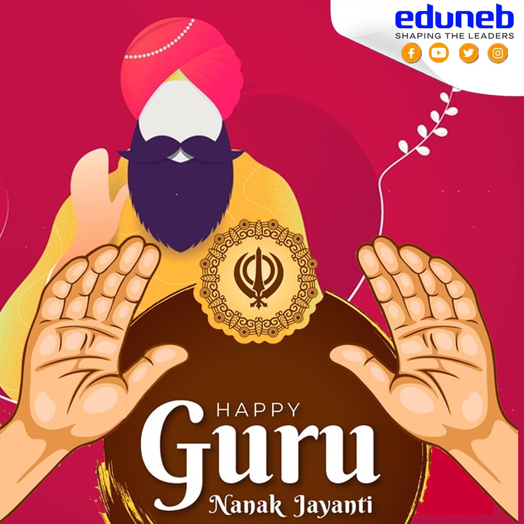 """Burn worldly love, rub the ashes and make ink of it, make the heart the pen, the intellect the writer, write that which has no end or limit.""  - Sri Guru Nanak Dev Ji   #IndianHeartbeat wishes you 550 Guru Nanak Jayanti.   #gurunanakdevji #guru #dailyart #daily #gurunanakjayanti https://t.co/s6IDq7EUlN"