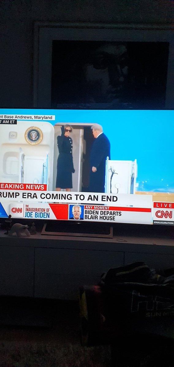 Bye bye! Uusi aikakausi alkaa! #BidenInauguration #BidenTransition #usavaalit