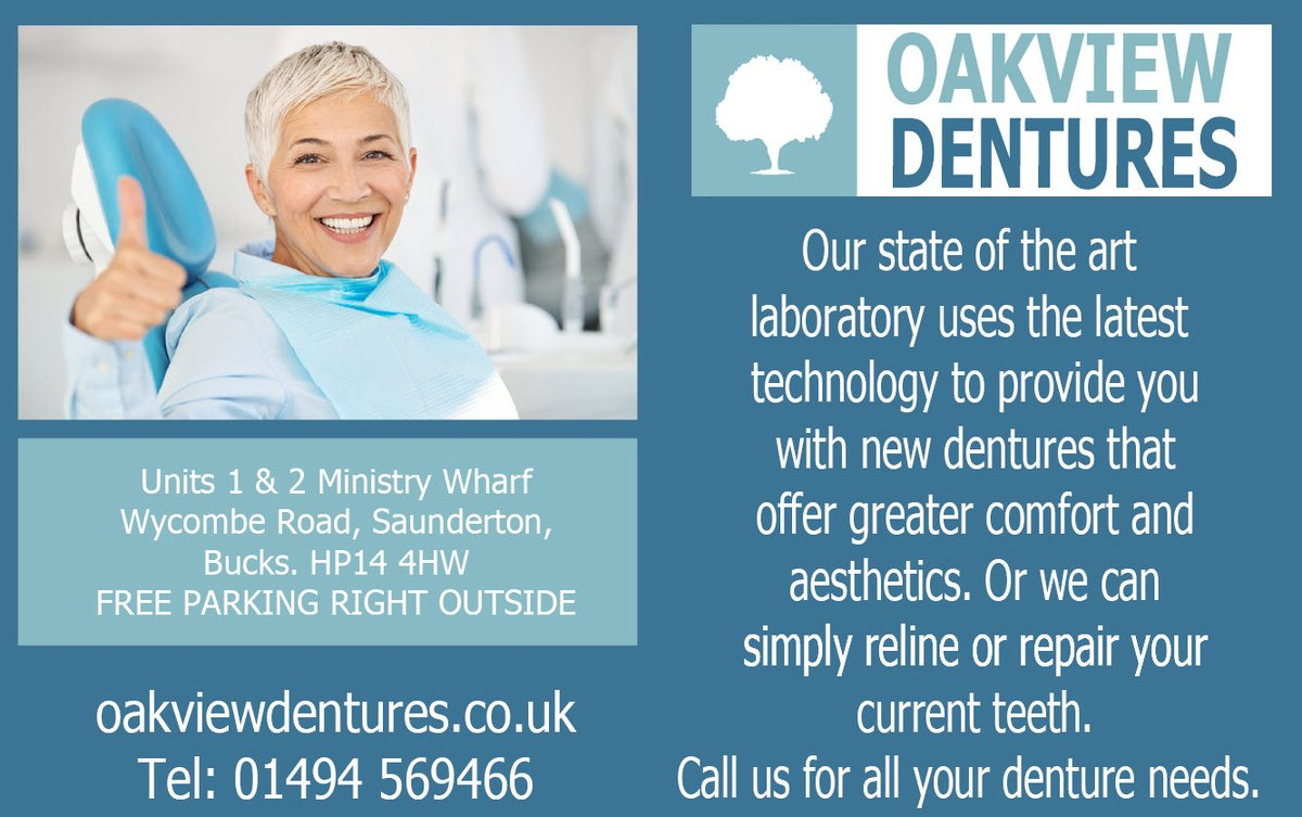 Our denture department @OakviewDental1  is welcoming new cases from UK dentists and residents.   #dentures #dentists #dentalcare #dentistry #wednesdaythought @ValeLifeMag