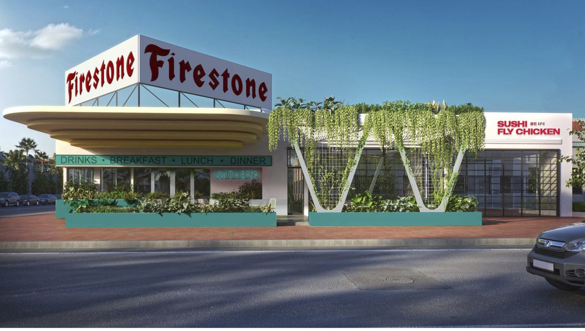 David Grutman is Bringing Three New Eateries to the Former Firestone Garage Later This Spring