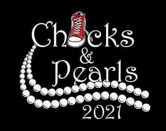 Chucks & Pearls 💋 #InaugurationDay