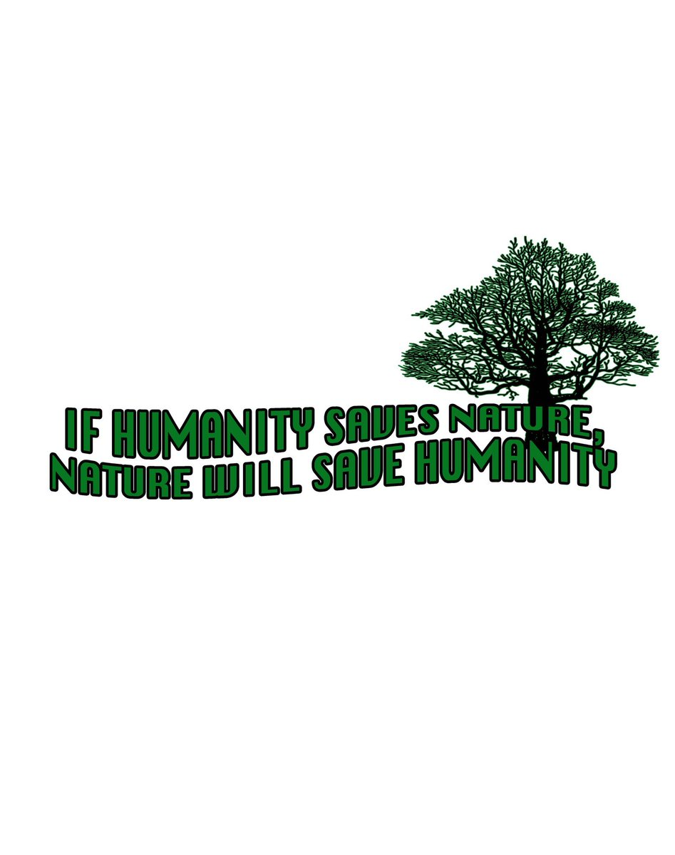 If Humanity Saves Nature, Nature Will Save Humanity. #human #Humanity #nature #Sustainability #climate #earth #environnement #ClimateCrisis #NewYork #NewYear2021 #earthday #celebrityleaks #oceans  #human #Humanity #unity @TicToc_Earth
