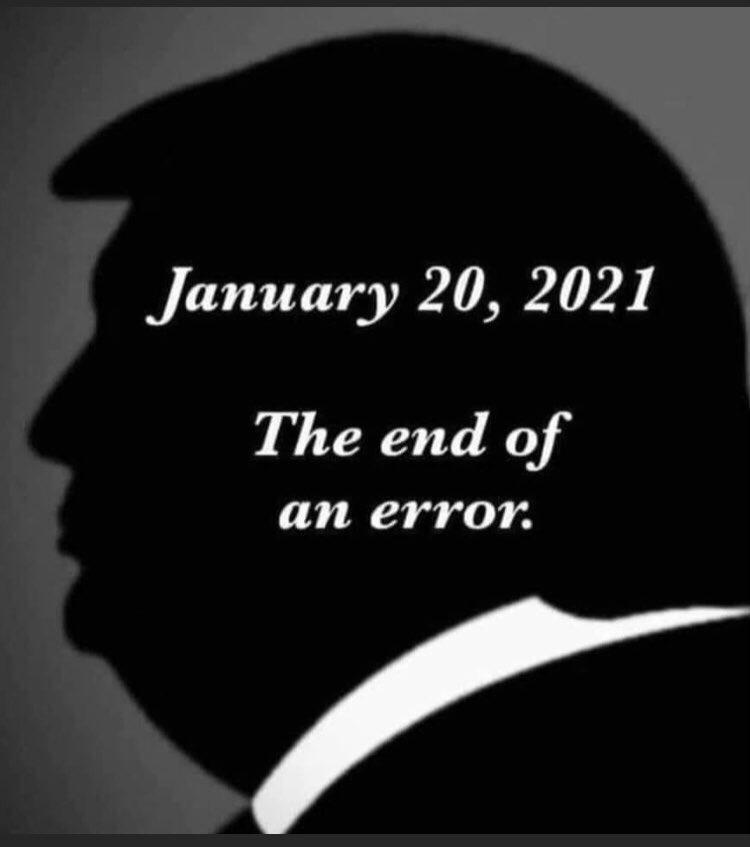 The End of an Error!! . . #TheEndOfAnError #YouAreFired #Dotard #LoserInChief #OneTermPresident #ImpeachedPresident #AreYouTiredOfWinning #SoCalledPresident #TrumpTantrum #Repost